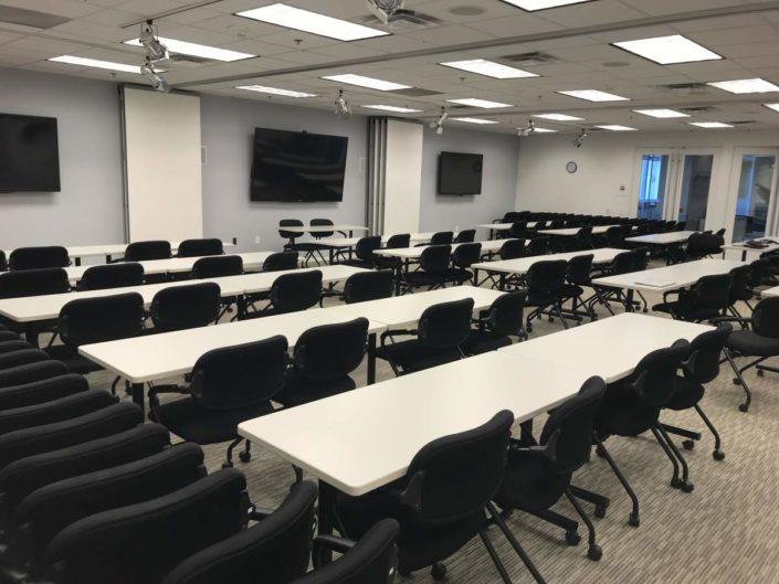 Training Room audio visual system