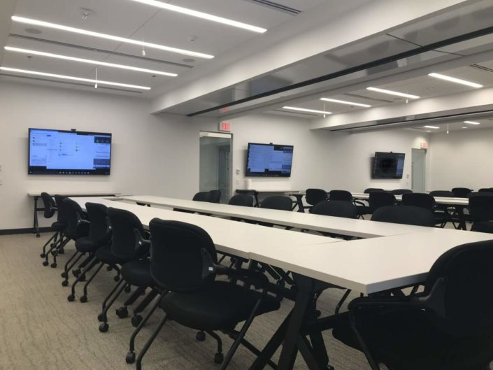 Arlington, VA - divisible room sound reinforcement and audio conferencing